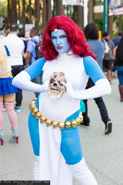 how to make mystique body