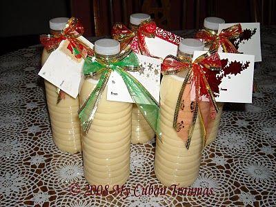 Crema de Vie - Cuban Eggnog. Delicious extra calories during Christmas celebrations.