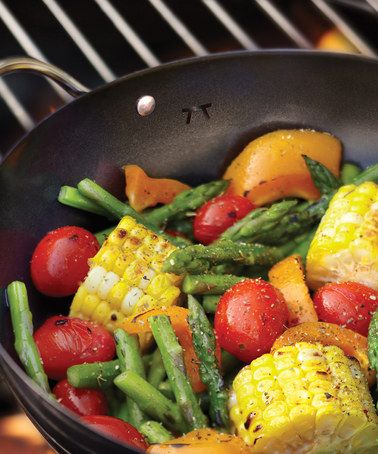 Take a look at this Mini Nonstick Grill Wok by Fox Run on #zulily today! $9 !!