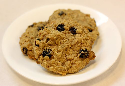Egg-Free Oatmeal Raisin Cookies @Angela Gray Gee (other egg free dessert recipes here too)