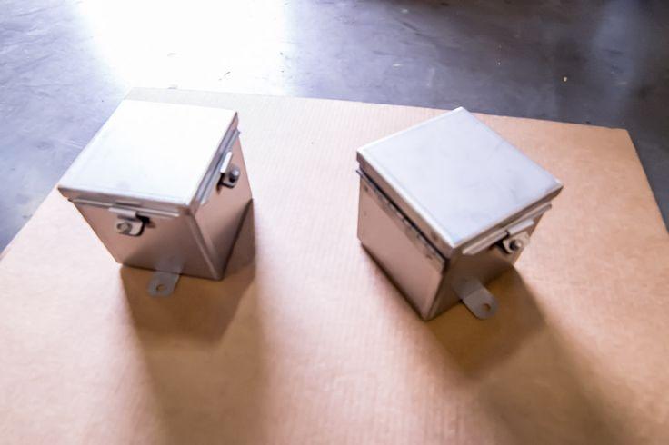 Type4X Hinged Covered Junction Box http://njsullivan.com/type4x-hinged-covered-junction-box/ #Type4XJunctionBox #NEMAType4x #ULType4x #StainlessSteel