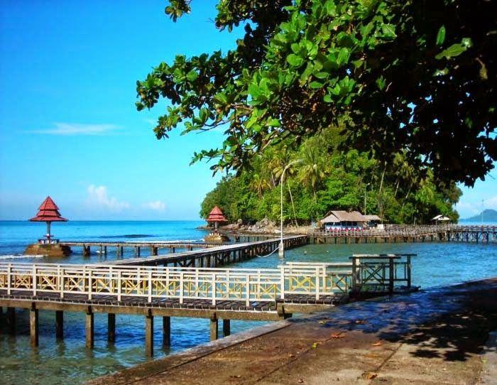 Indahnya Objek Wisata Pantai Carocok Painan Sumatera Barat