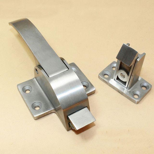 Oven Cold Storage Door Lock Handle Latch Industrial Stainless