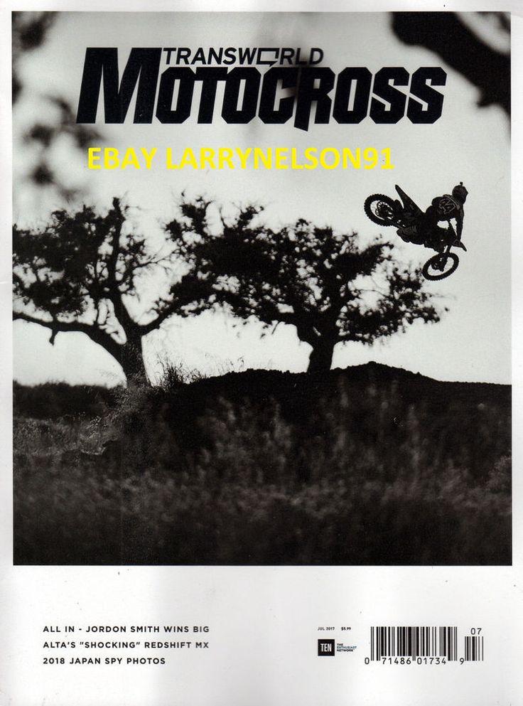 TRANSWORLD MOTOCROSS MAGAZINE JULY 2017