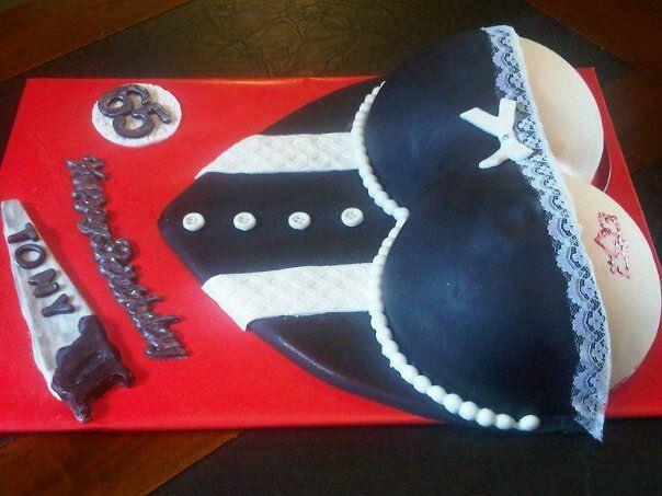CORSETT STYLE BOOK CAKE