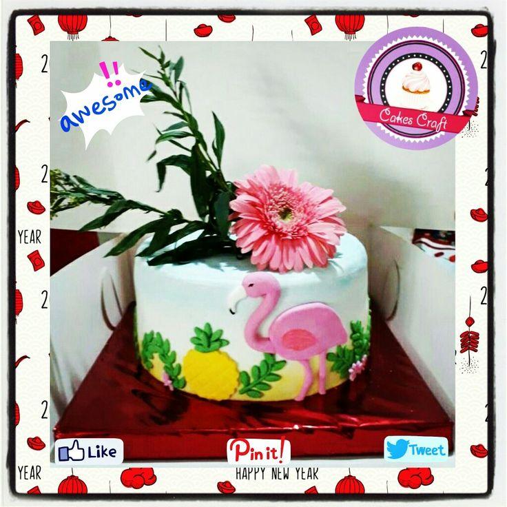 Fauna y flora Cake! / CID - 585 #tortatematica #barranquilla #cakestagram #uniautonoma #uniatlantico #uninorte #unilibre #unimetro  #hbd #cumpleaños #CakescraftKeados #cakeboss #cupcakewar #cakescraftbq #airsoft #halamadrid #jamesrodriguez10 #collagecostacaribe #enchufetv #aotronivel #pineappple #canalcaracol #flamingo #novenanavideña #flamengo #novena #piña