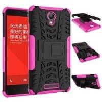 rugged tough tire hard case for xiaomi redmi note 2 / hongmi note 2 prime pink no210elaa3vd4hanid-7479576