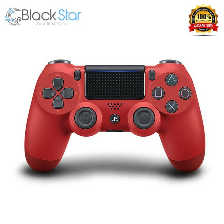 Sony PlayStation DualShock 4 Controller - Red #PlayStation