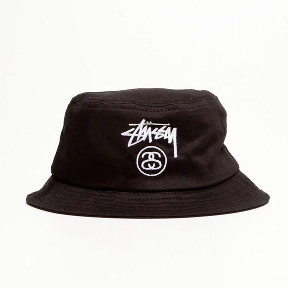 Stussy Bucket Hat Black Stussy Bucket Hat! Stussy Accessories Hats