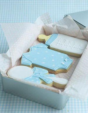 Lovely Idea for Baby Boy Shower Cookies www.MadamPaloozaEmporium.com www.facebook.com/MadamPalooza