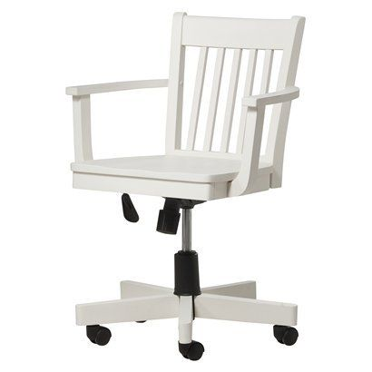 Threshold™ Avington Office Bankers Chair   White Quick Information