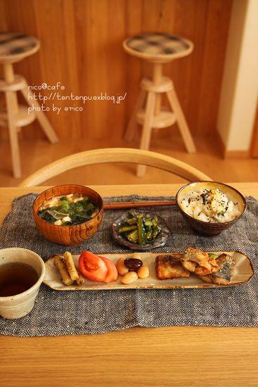 ◎ ごはんメニュー : お家カフェごっこ nico@cafe