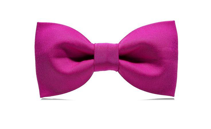 marthu bow tie Fuchsia, men's fashion, men's accesories, bow tie