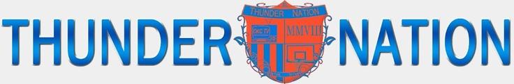 Thunder 2012-2013 schedule