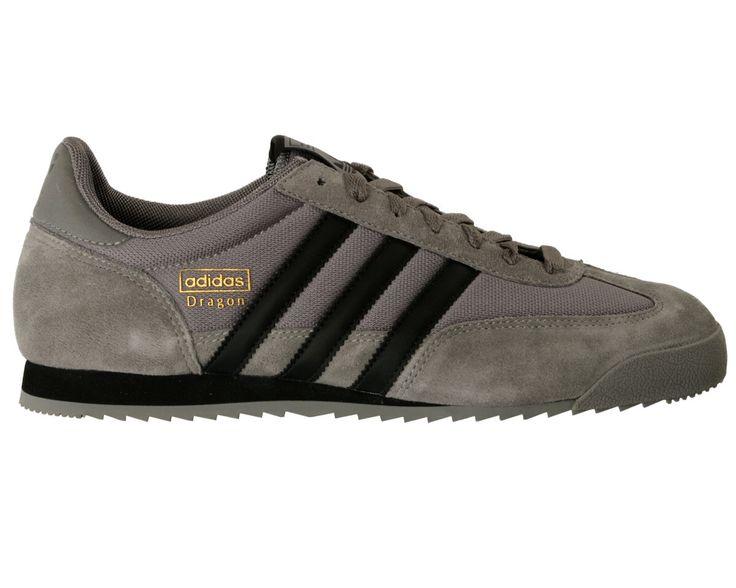 Adidas Dragon gris y negro