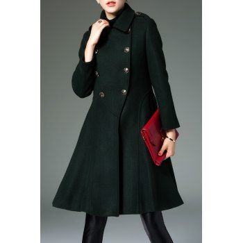 SHARE & Get it FREE | Skirted Coat In Wool BlendFor Fashion Lovers only:80,000+ Items·FREE SHIPPING Join Dresslily: Get YOUR $50 NOW!