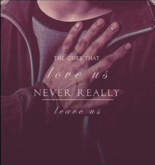 """""""The ones that love us never really leave us.""""  #HarryPotter /ariane lau/"""