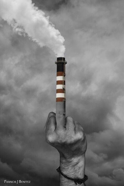 No mas polución!