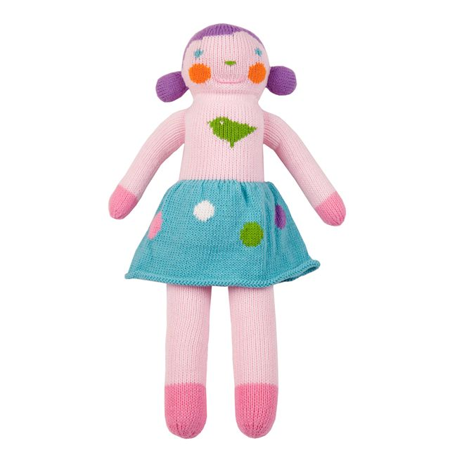 Violet Girl Knit Doll - perfect for play and cuddling. Great gift idea! #PNshop