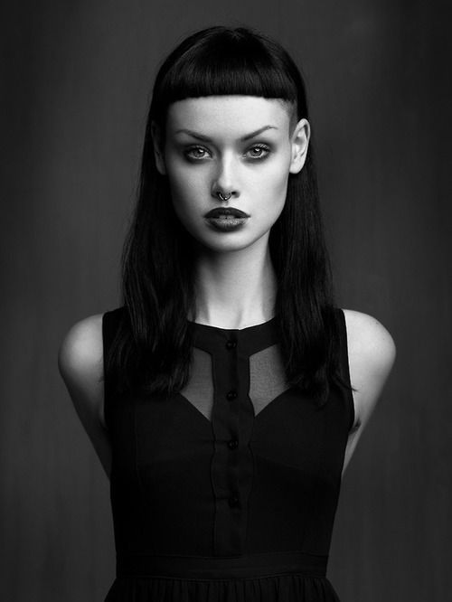 Photo dark fashion goth