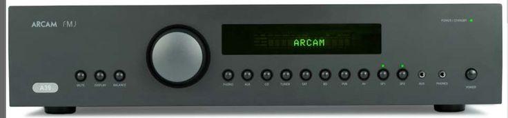 Conçu a partir de l'excellent A49, l'amplificateur intégré A39 d'Arcam offre 120W rms par canal en classe A/G. Plus d'informations sur notre site internet !