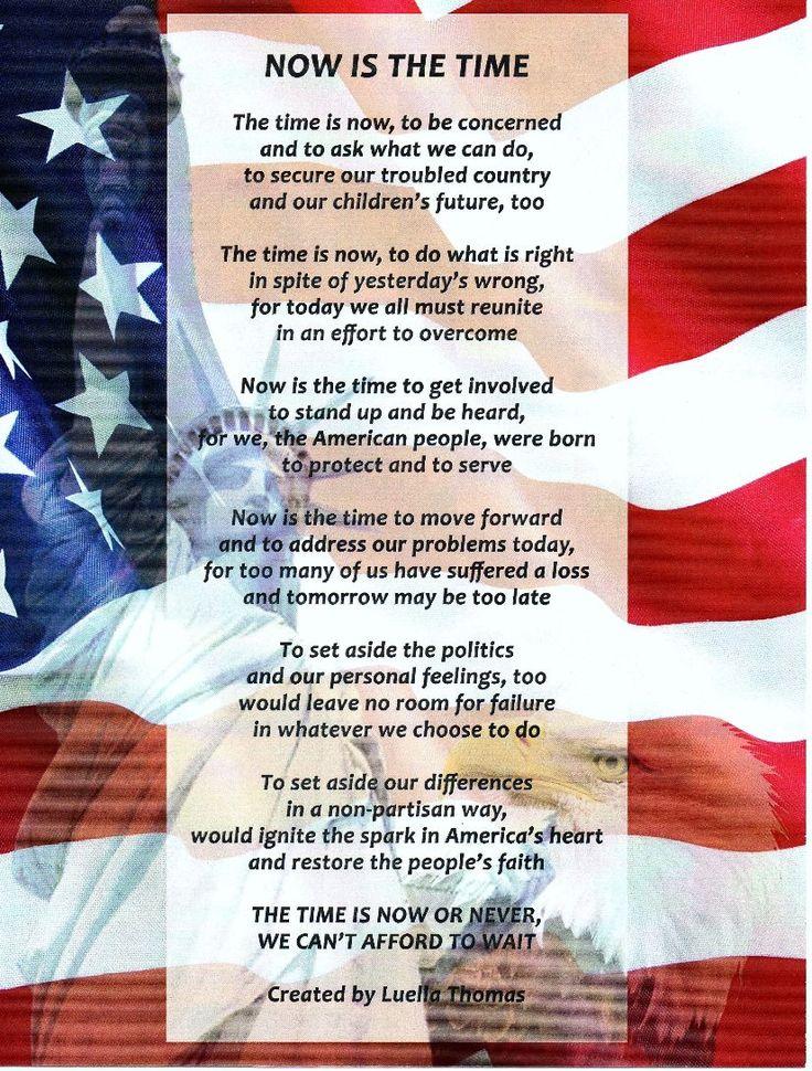 Best 20+ Patriotic Poems ideas on Pinterest | Veterans poems, Poem ...