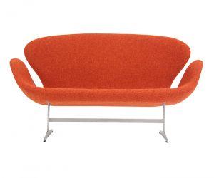 "Fritz Hansen ""Swan"" Sofa by Arne Jacobsen"
