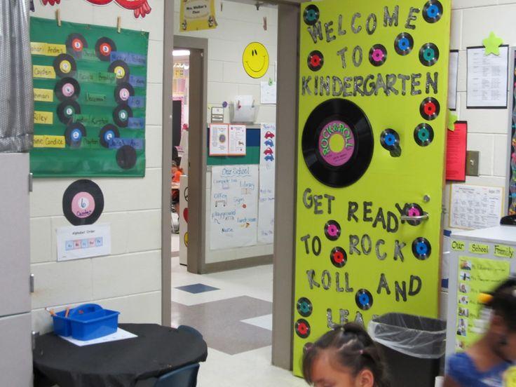 Rock And Roll Classroom Theme | Kindergarten ROCKS!: Kindergarten Rocks Classroom Theme Pics 2011-2012