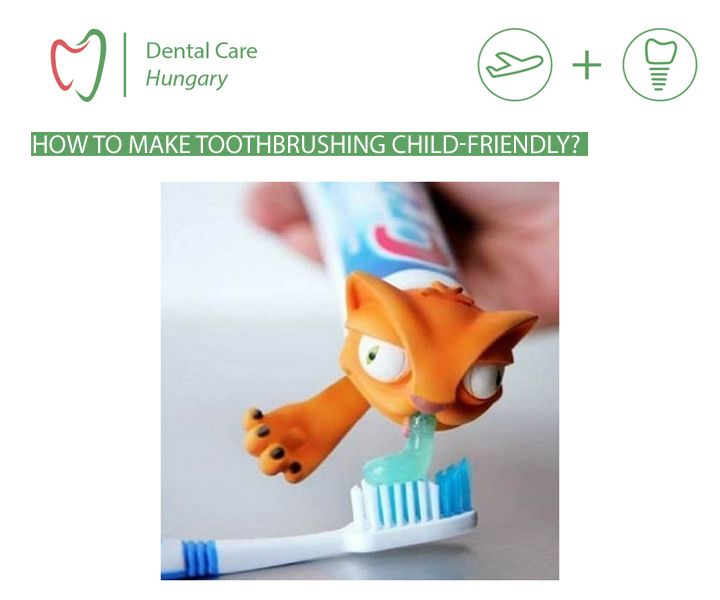 A playful gadget to make oral care more appealing for kids