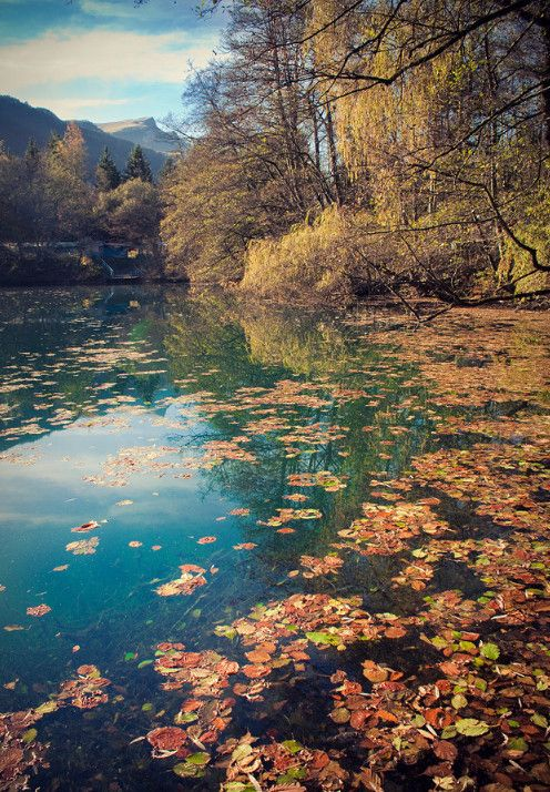 Голубые озёра,  Черек-Балкарское ущелье, Кабардино-Балкария