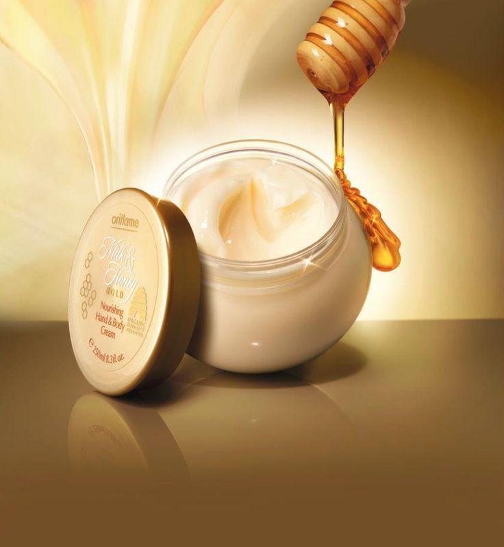 Milk & Honey Gold Crema corporal de Oriflame. Hazte VIP aquí, http://my.oriflame.es/malena