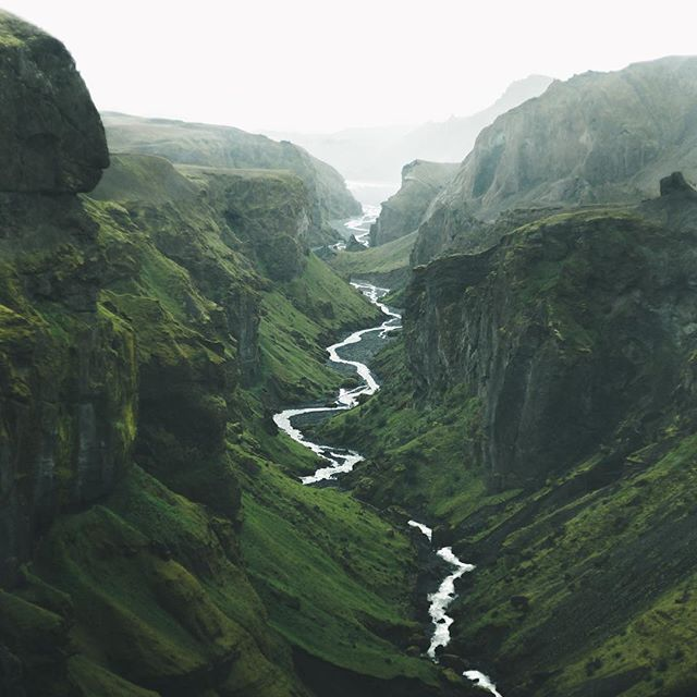 Hi Guys. This is @Icelandic Explorer with a takeover and I am really excited to bring you some of my favourite shots from Iceland. This photo is taken in Þórsmörk (meaning the Valley of Thor) and the name says it all. Þórsmörk is that kind of place you thought didn't exist -- like Nature is just messing around with you, dangling landscapes of ethereal beauty in front of you only to take it away. #exploretocreate