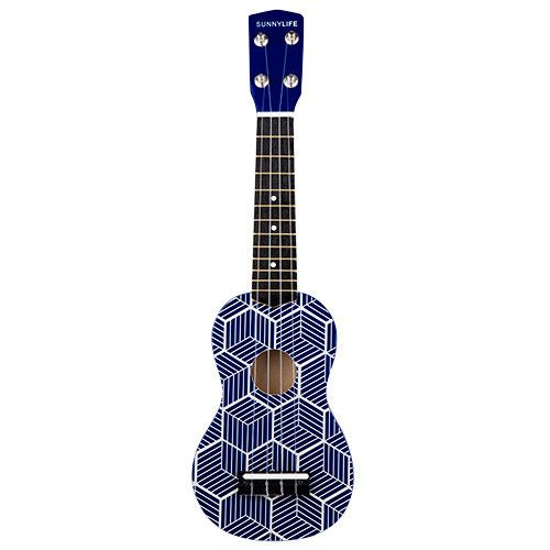 Make your own music of the sun with SunnyLife's collection of instruments. Collect your crew, grab this ukulele and strum in the sun! 2.4 x 6 x 19.9 Inches Wood (Hardwood)