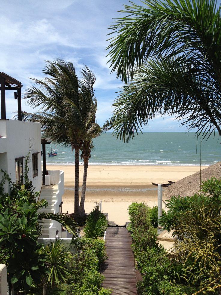 Aleenta Resort, Pranpuri, Thailand, 2013