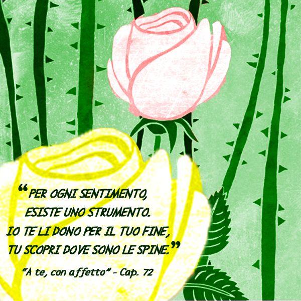 """Forbici! Carta! Colori! Parole! Note! Quale strumento sarà determinante? -  Leggi la sinossi di """"A te, con affetto"""", un libro game sulle emozioni  http://storiedicoaching.com/ebook/ - Testo di Paola Fantini Storie di coaching - Illustrazioni di Paolo Pochettino -#Illustrations #coaching #strumento #sentimento #rosa #spine #libro #ebook #game #kindle #kindle unlimited"""