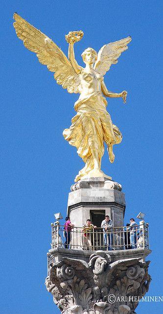 El Ángel de la Independencia (The Angel of Independence), Mexico City, Mexico