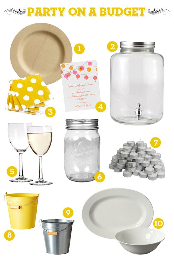 HOW TO: Party on a Budget