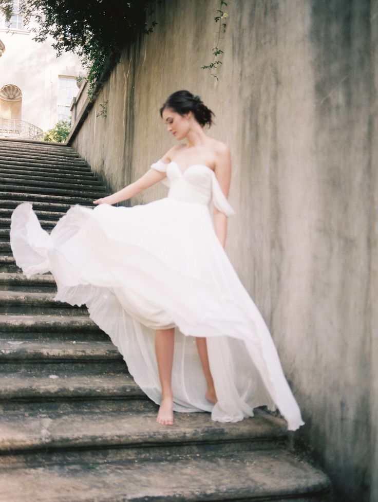 Ethereal Sarah Seven Dress | Captured by Kate Lamb at the Tulle & Grace Workshop