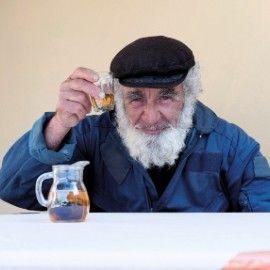 Greek fisherman who lives on Ithaki
