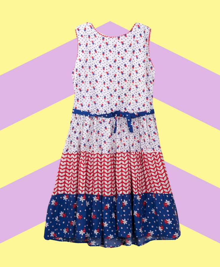 Pumpkin Patch Floral Tiered Dress - available in sizes 5 to 12 years http://www.pumpkinpatchkids.com