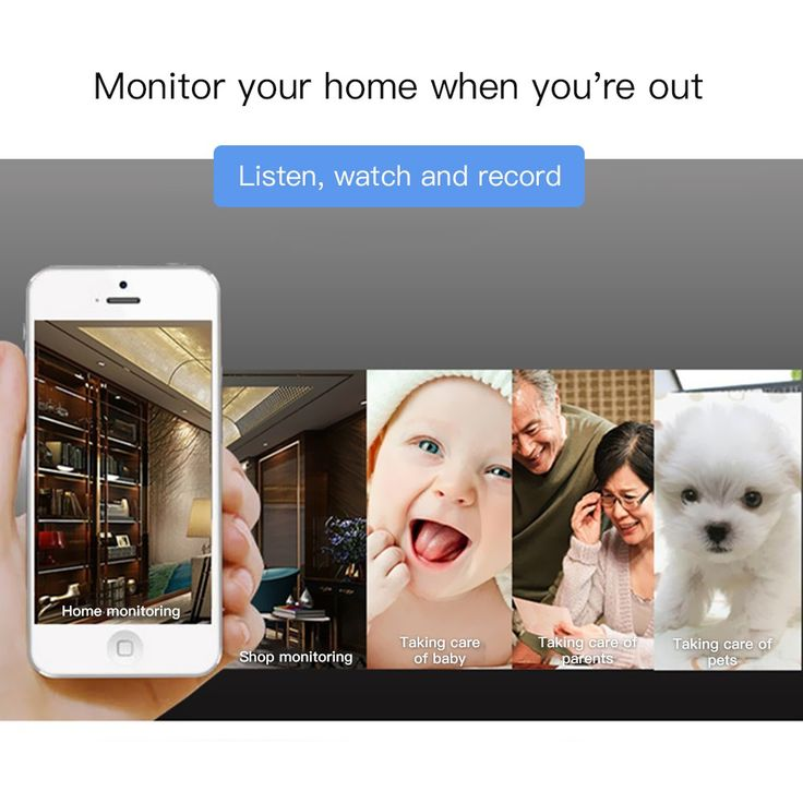 Wireless Monitor Nanny Cam WIFI IP Pinhole DIY Digital Video Camera Sales Online black - Tomtop