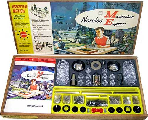 Toys For Engineers : Best images about non meccano metal construction toys