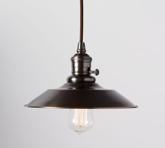 PB Classic Pendant - Metal Flared | Possible pendant lights over the kitchen island. Ineke ++ for pendant.