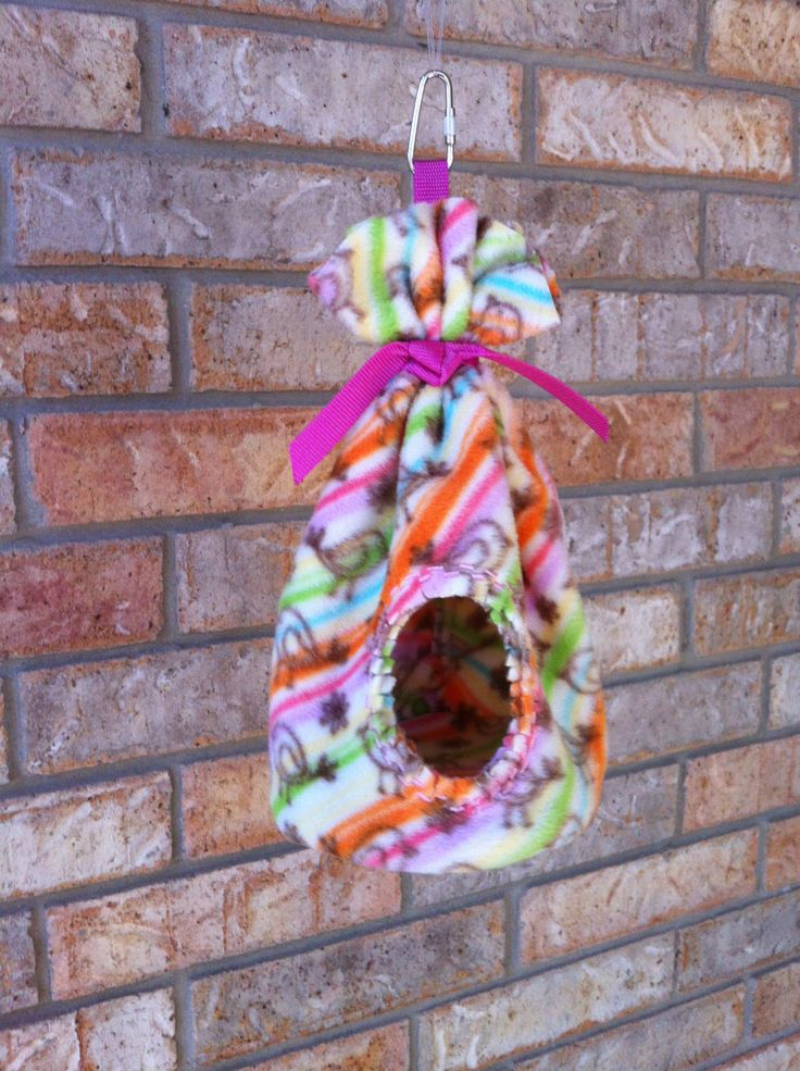 Teepee Great for Finches Parrotlets Sugar Gliders by ItsAllCozy, $14.00 …