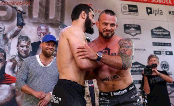 Mamed Khalidov wygwizdany po walce z Borysem Mańkowskim na gali KSW 39 [WIDEO]