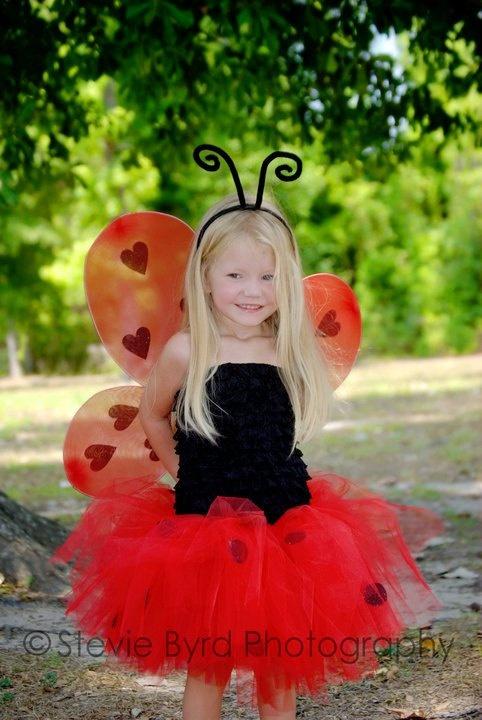Ladybug tutu halloween costume