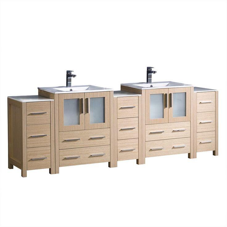 Ziemlich Bathroom Cabinets: Best 10+ Light Oak Cabinets Ideas On Pinterest