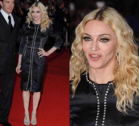 Madonna's Stella MccARtney At RocknRolla Premiere