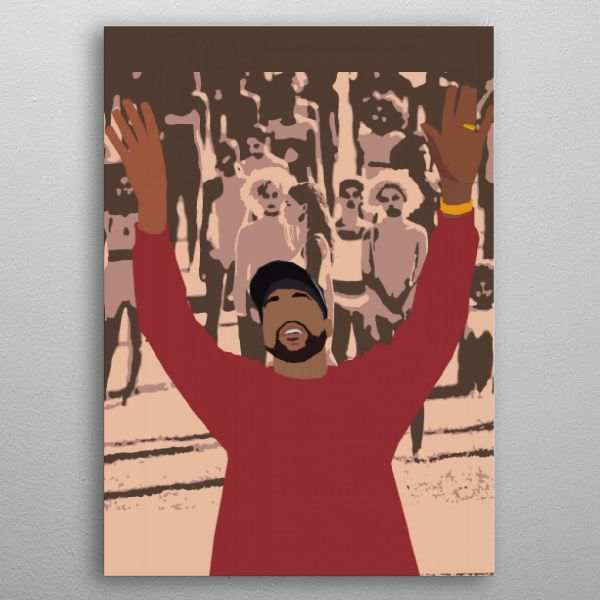 Kanye West Pop Art Poster Print Metal Posters Pop Art Posters Pop Art Posters Art Prints