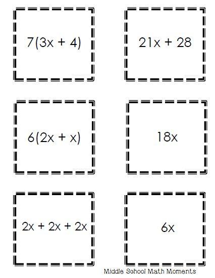 140 best INB-Algebra-Expressions images on Pinterest